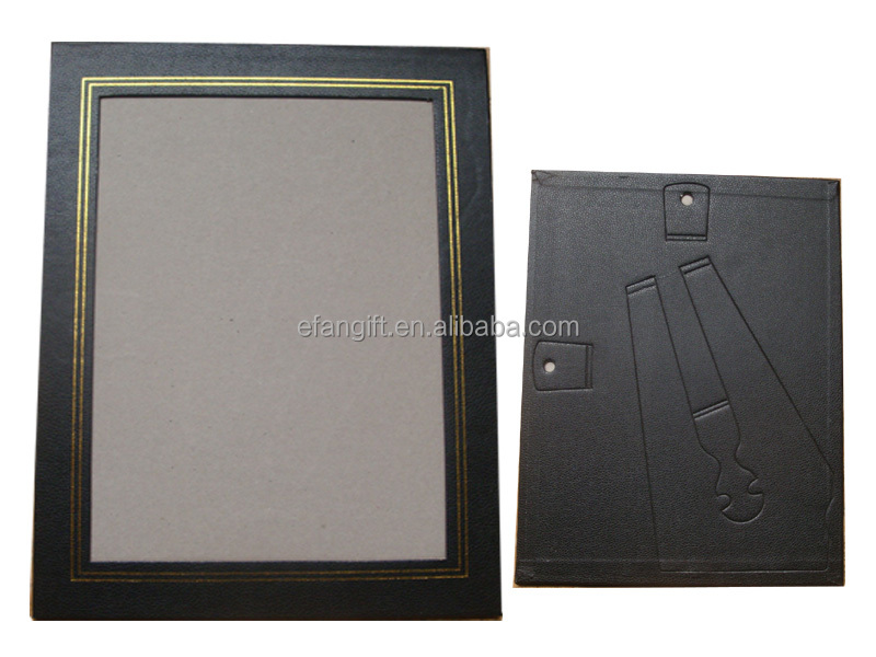 a4 foiled line leatherette certificate frame buy leatherette certificate frame8x10 certificate certificate photo frame product on