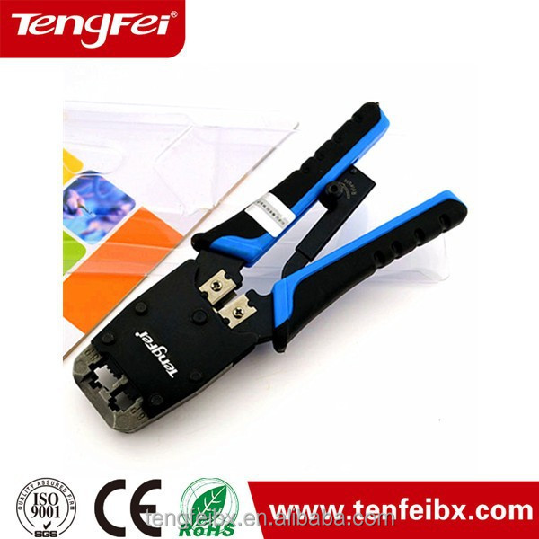 RJ11 RJ12 RJ45 Cat 5 Ethernet LAN Cable 4P4C 6P6C 8P8C Crimper Crimp Tool