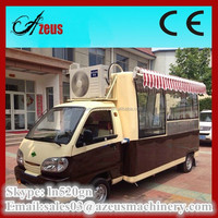 Mobile catering vans / camion food truck a vendre / electric dining cart for sale