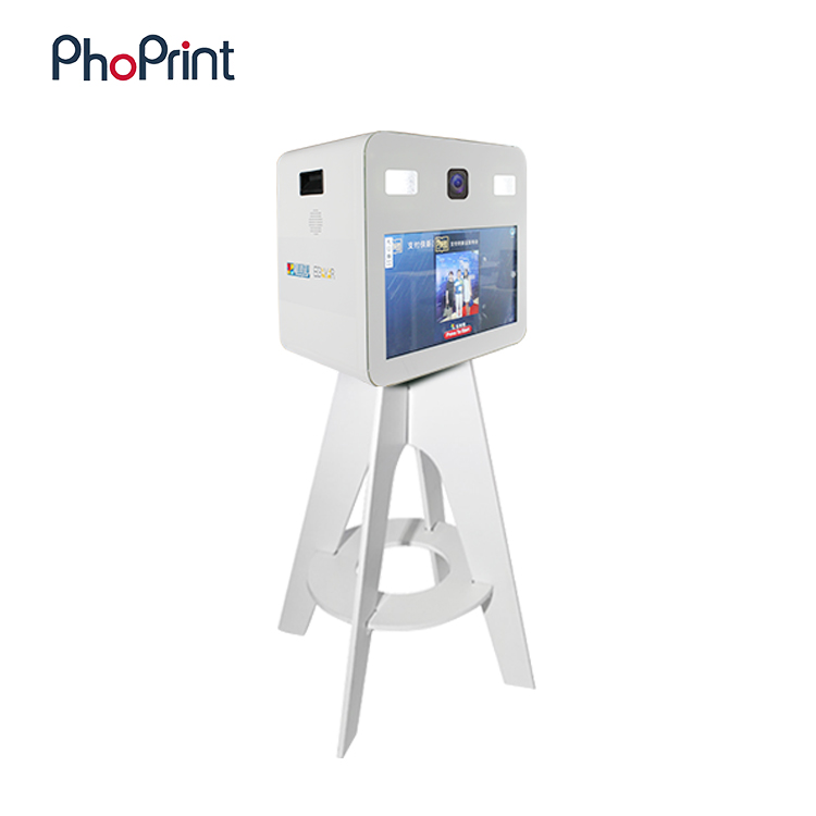 Multi function new 21.5 inch lcd panel phone photo printing kiosk/photo printer/hiti photo printer s420