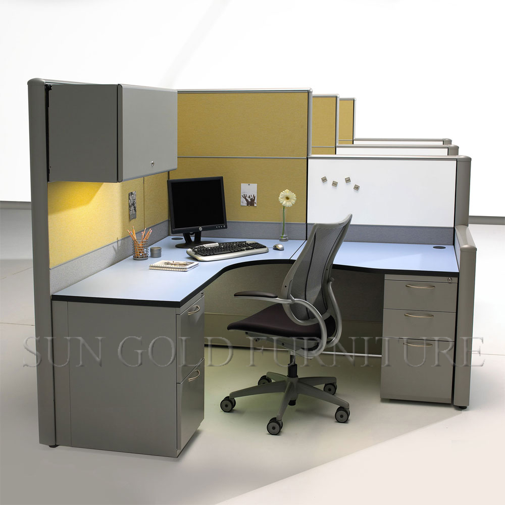 Design layout open modern office workstation in different for Office desk layout ideas
