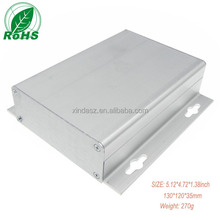 Manufacturer wall mount aluminum box 130*120*35mm junction box aluminum project enclosure