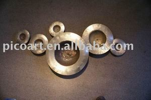 metal round wall art,100% hand crafted wall sculpture