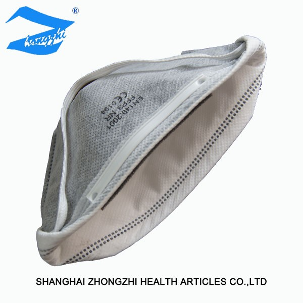 Folding Type Duckbilled Activated Carbon Fiber Ffp3 Face Mask ...