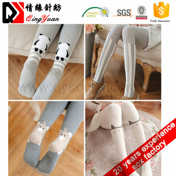 Knee high socks women stockings girl school thigh high socks cartoon tube socks