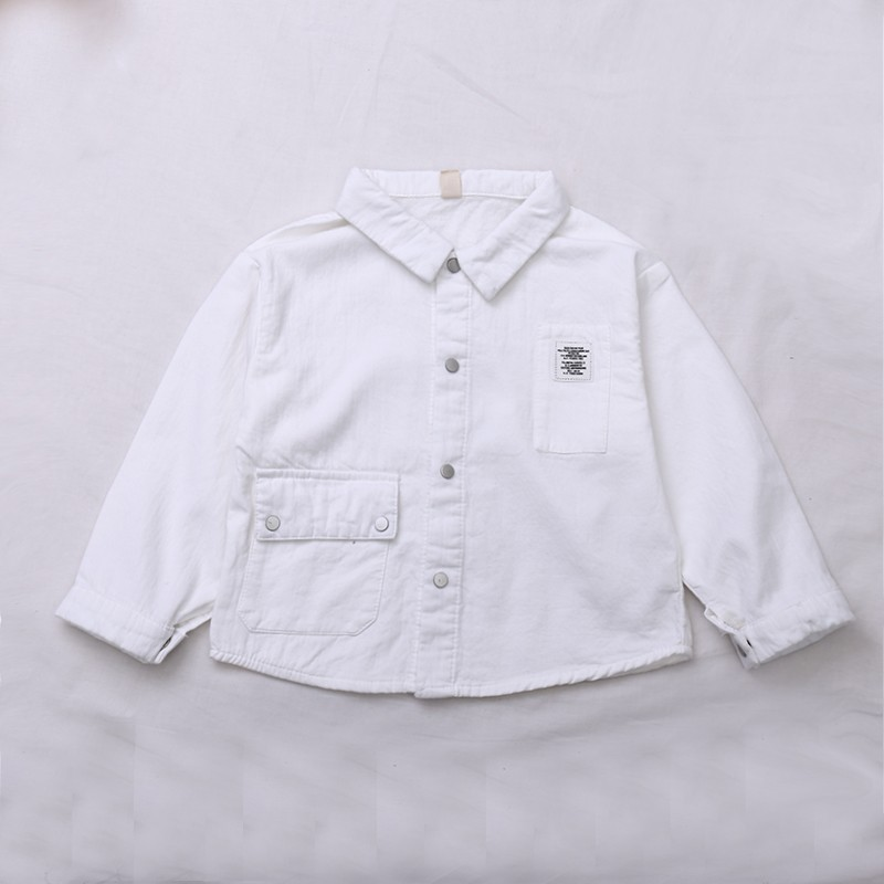 cute summer cotton kid cheap boys shirts zipper long sleeve fashion children boys shirts
