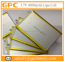 BIS Approved Battery 606090 4000mAh Lithium Polymer Battery Cell