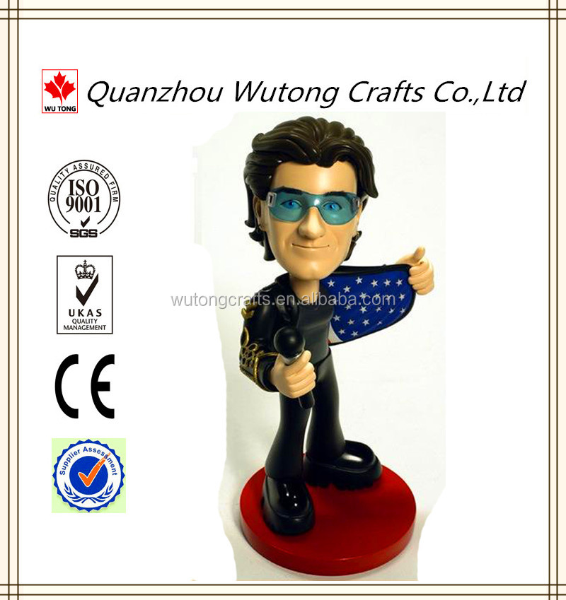 Movie star resin customization Statue Bobble Heads