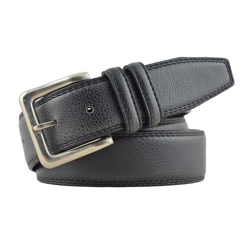 2015 LCY branded waistband Casual Cow leather strap black mens belt leather belts for men online free shipping