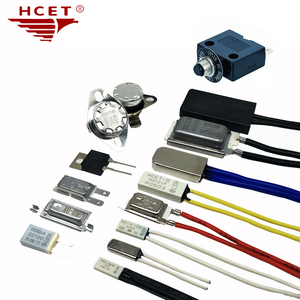 HCET Home Appliance Parts Bimetal Thermostat KSD301 Temperature Limiter Switch Electric Water Heater