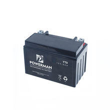 Strong Automotive Battery Technology 12V 9Ah Lead Acid Motorcycle Battery