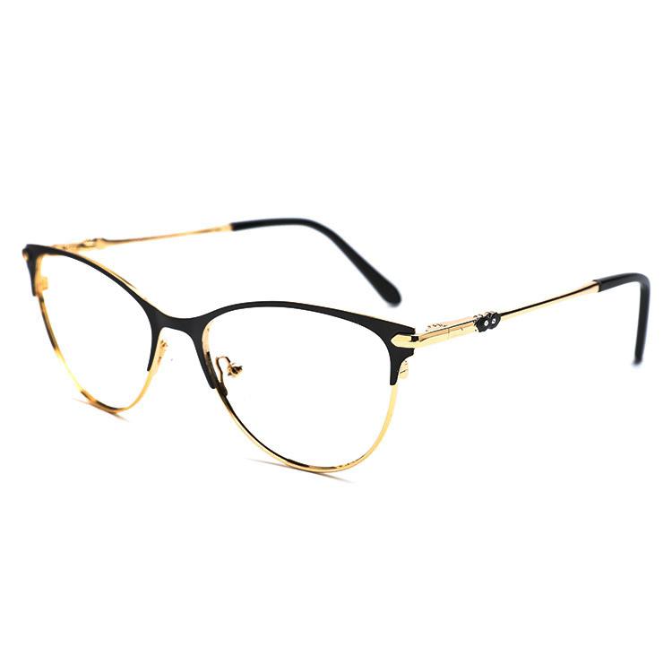 b17545cbf4 Venta al por mayor listo para nave nuevo modelo de metal de encargo óptica  gafas de
