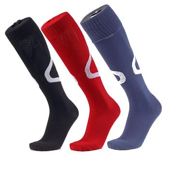 d1fa34e78ea 2018 Wholesale custom knee high colorful travel cycling running sport football  sock