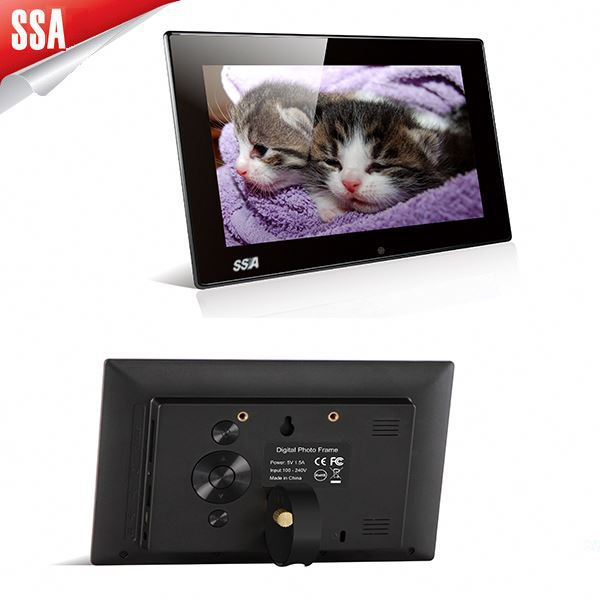 Shining factory price led 7 inch digital photo album for office decoration and ad display