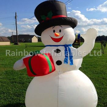 30 Ft Inflatable Snowman Pictures To Pin On Pinterest