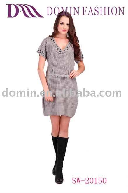 Ladies'fashion sweater dress