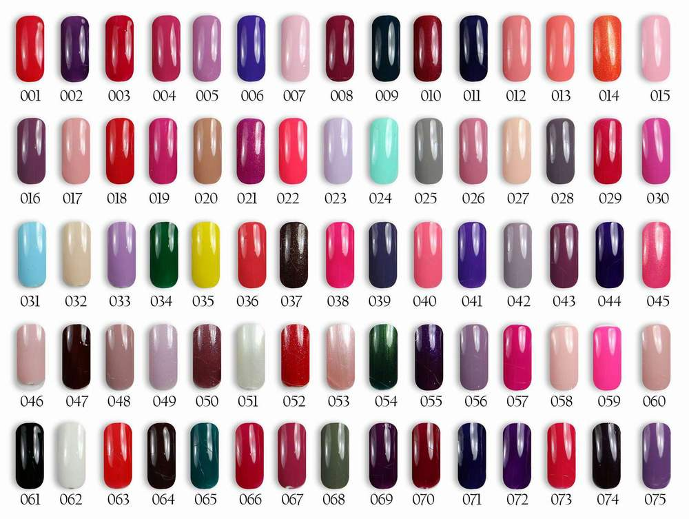 Color 1000 Gel Nail Polish Fascinating