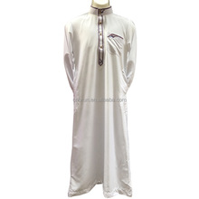 Fashion Muslim clothing for Men Mens Kaftan Jubba Thobe White Abaya Arab clothing Man Islamic clothing Ropa