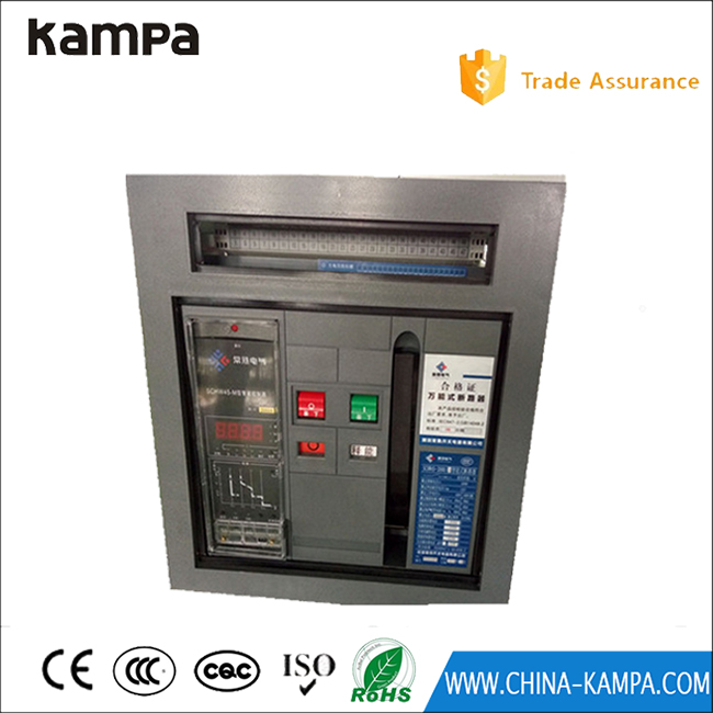 Intelligent product 2000A electric air circuit breaker