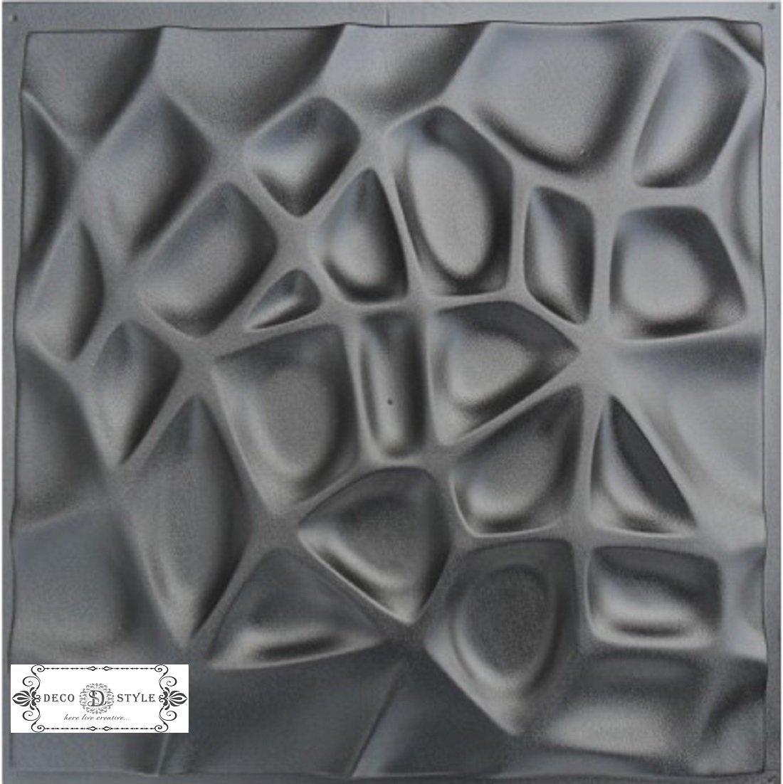 Spiderweb Plastic Molds For 3 D Panels Plaster Wall Stone Form 3D Decor Wall Panels Art Decor Decorative Wall Tile Panels