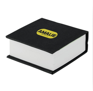Mini Custom Printed Hardcover Writing Memo Pad with Sticky Notes