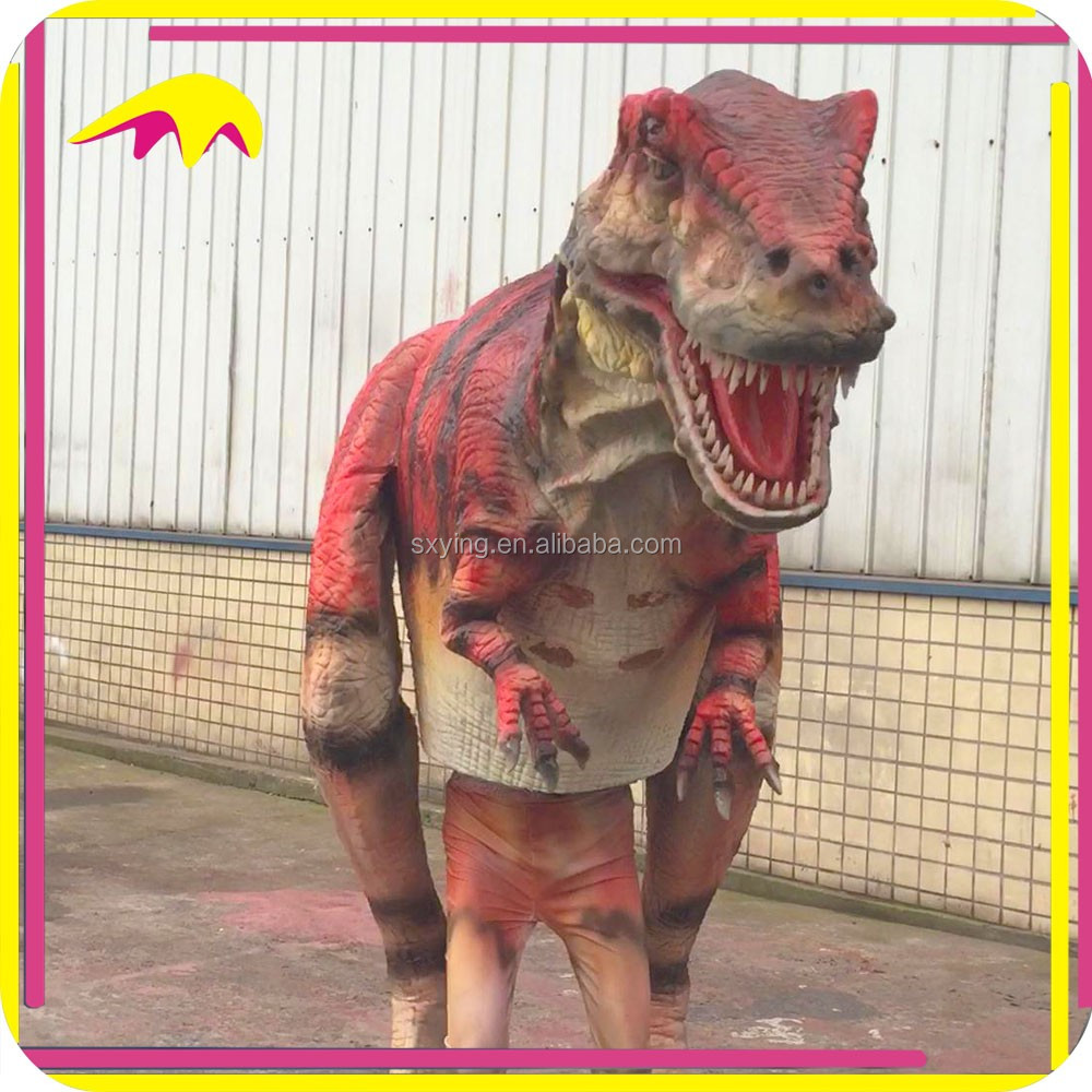 KANO4347 Artificial Robotic Life-Size Walk With Dinosaur Costume