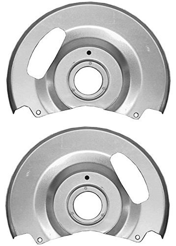 NEW SOUTHWEST SPEED DISC BRAKE DUST SHIELDS / BACKING PLATES FOR DISC BRAKES ON 1971 - 1991 CHEVY & GMC C10 C1500 TRUCKS & SUBURBANS