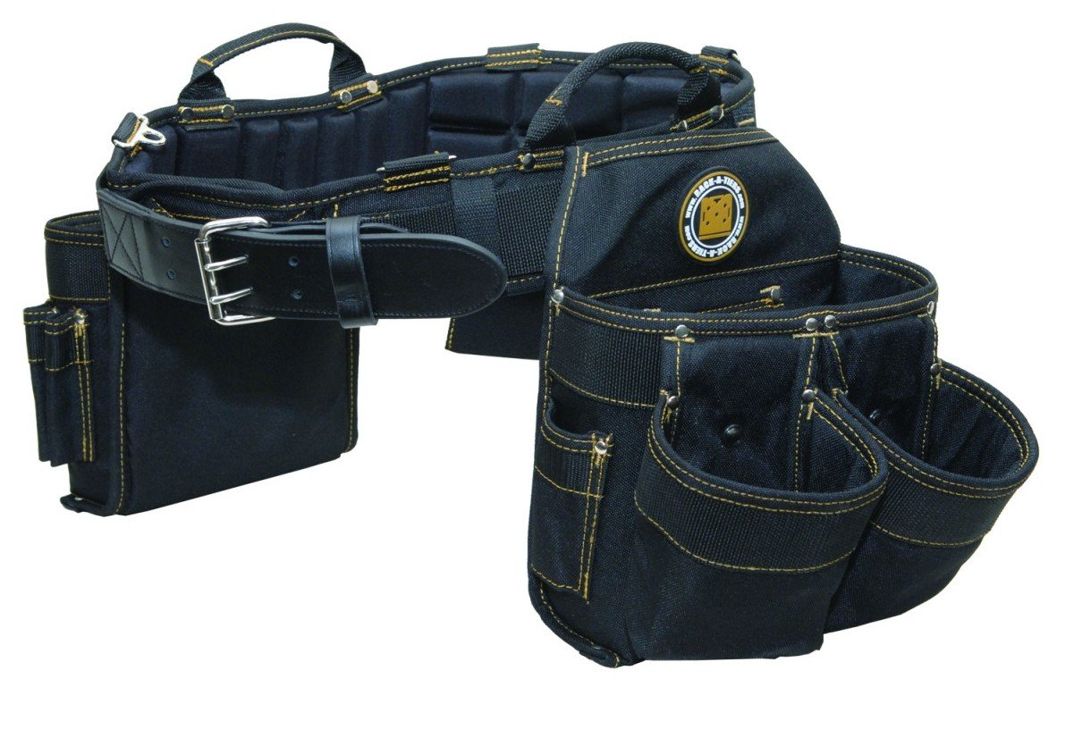 Rack-A-Tiers 43241 Electrician's Combo Belt & Bags, Small 26-30