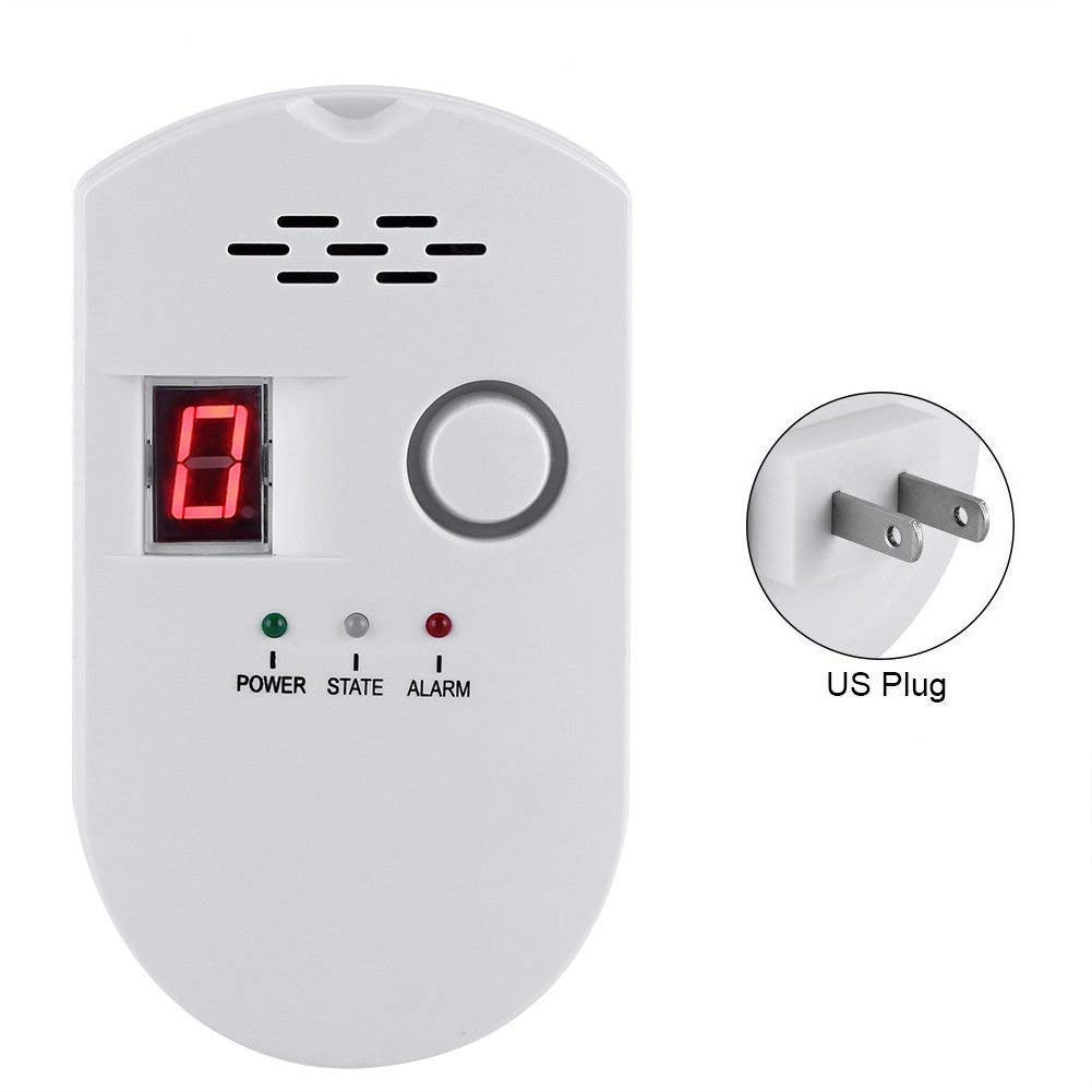 433mhz Wireless High Sensitive Combustible Natural Gas Leakage Detector Alarm Sensor For Home Kitchen Security Alarm System Fire Protection Back To Search Resultssecurity & Protection