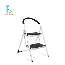 2 step stool 3 step stairs metal ladder with slip-resistance for homeuse