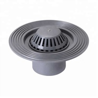 ERA Plastic PVC Fittings Light Type Round Roof Floor Drains
