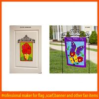 China Selling mental stand Patriotic yard nylon garden flag