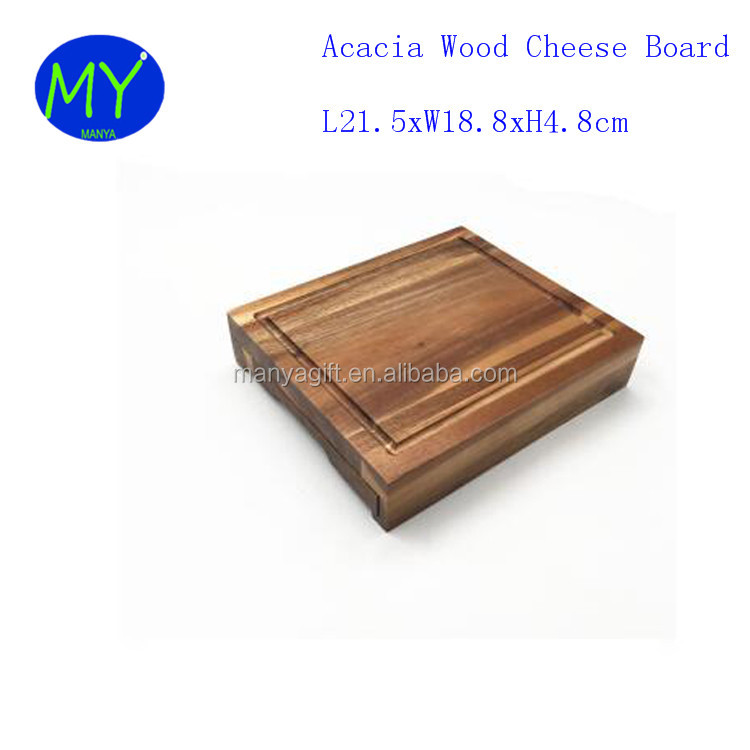Professional Customized Service Bamboo Cheese Board With