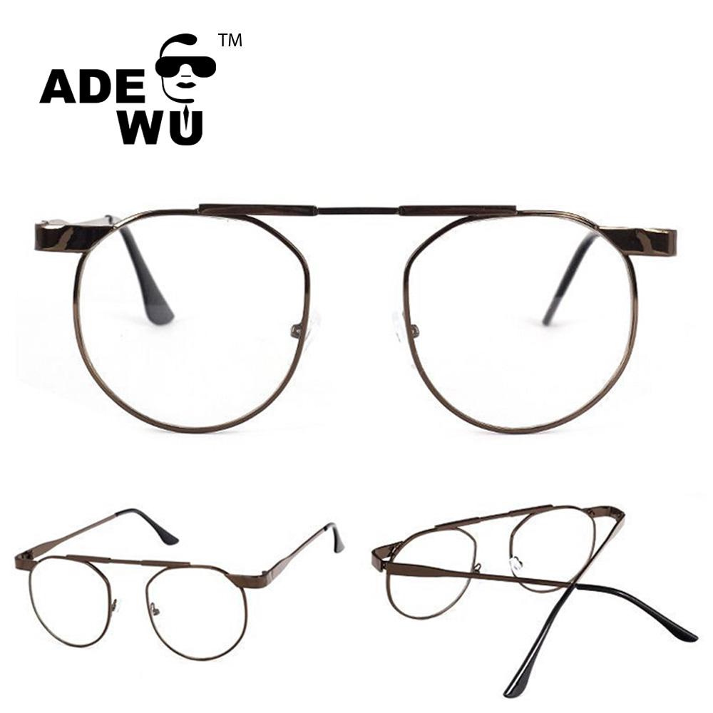 Ade Wu mujeres retro gafas marcos hombres marca de diseño gafas moda ...
