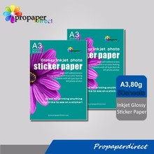A3 sticker type printer inkjet photo paper