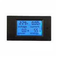 New 4 in 1 meter Voltage Current Power Energy meter Gauge 80-260V/20A voltmeter Ammeter Watt Power Meter