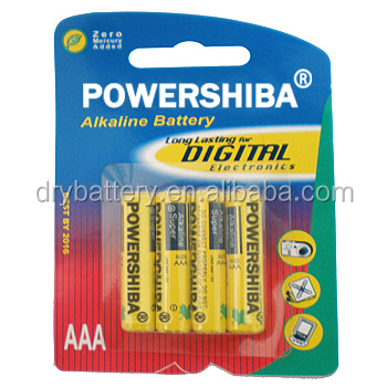 excellent AAA alkaline battery for poland market