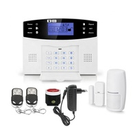 Wholesale Spanish 99 Wireless 7 Wired Zone Smart GSM Home Alarm with LCD Display PST-GA997CQN