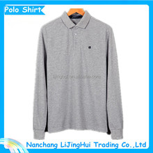 2015 new fashion top quality polo shirt with pocket