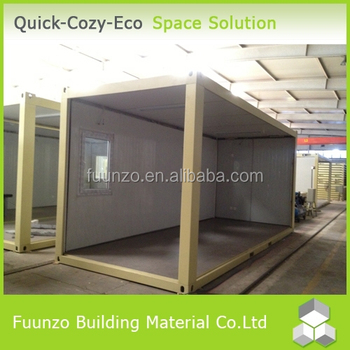Quick Assembly High Quality Demountable Panelized Conex Containerd