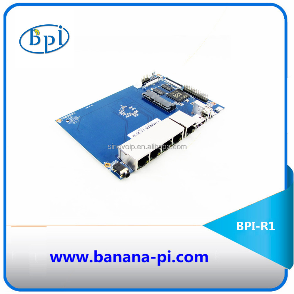 Development Board series product BPI-R1 300Mbps Wireless N Router board A20 Dual-Core wifi router function