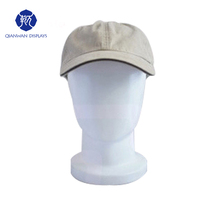 Foshan factory outlet high quality fiberglass mannequin head for hat display