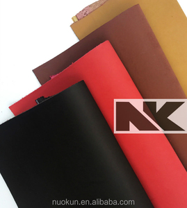 NK P022 PU Nubuck Chunky Leather for Bags and Shoes