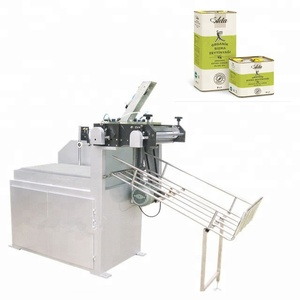Semi-automatic three piece tin can body making machines for paint cans, oil cans