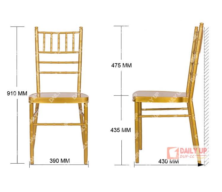 De silla Boda Buy Chiavari Baratometal Silla Metal Para Aluminio Tiffany Alquiler Apilable 8wmN0n