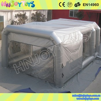 Hot sale High Quality PVC Tarpaulin Portable Spray Booth For Sale cheaper
