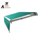 Professional modern full cassette retractable metal door awning fox wing foe shantui spare parts
