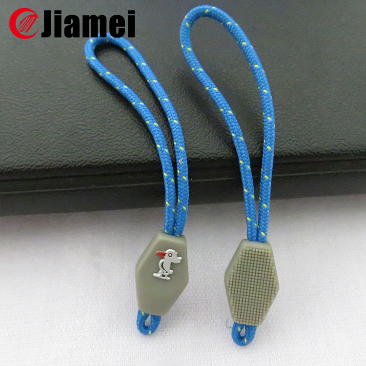 Customized Eco-friendly Colorful Soft rubber zipper cover