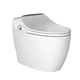 One-Piece Sprayer Porcelain Sensor Toilet Auto Flush Warm Toilet Seat Water Jet Bidet Ceramic Sanitary Ware Smart Chinese Toilet