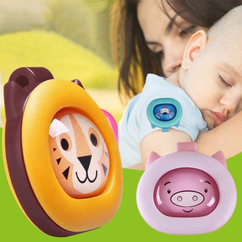 Amazon Hot Selling Outdoor Deet Free Buckle Anti Mosquito Dispeller Clip Natural Mosquito Repellent for Baby Adult